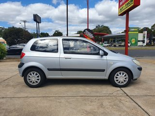 2006 Hyundai Getz TB MY06 SXI Silver 5 Speed Manual Hatchback