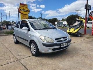 2006 Hyundai Getz TB MY06 SXI Silver 5 Speed Manual Hatchback.