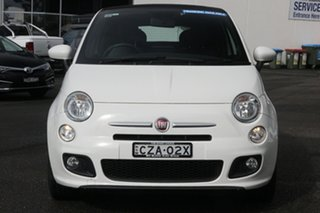 2014 Fiat 500C Series 1 S Dualogic White 5 Speed Sports Automatic Single Clutch Convertible