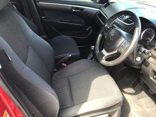 2014 Suzuki Swift FZ MY14 GL Navigator Red 5 Speed Manual Hatchback