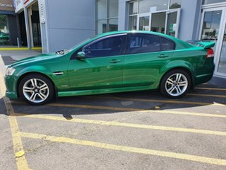 2010 Holden Commodore VE MY10 SV6 Green 6 Speed Manual Sedan