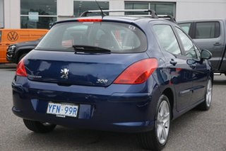 2008 Peugeot 308 T7 XSE Turbo Blue 5 Speed Manual Hatchback
