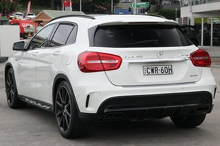 2015 Mercedes-Benz GLA-Class X156 806MY GLA45 AMG SPEEDSHIFT DCT 4MATIC White 7 Speed.