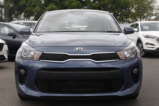 2020 Kia Rio YB MY20 S Blue 4 Speed Sports Automatic Hatchback.