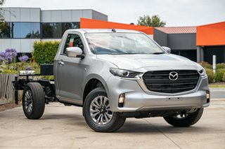 2021 Mazda BT-50 TFS40J XT Ice White 6 Speed Manual Cab Chassis.
