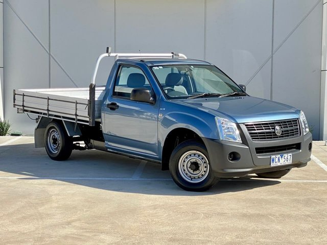 Used Holden Rodeo RA MY07 DX 4x2 Templestowe, 2007 Holden Rodeo RA MY07 DX 4x2 Blue 5 Speed Manual Cab Chassis