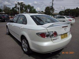 2004 Mazda 6 GG Classic White 5 Speed Manual Sedan