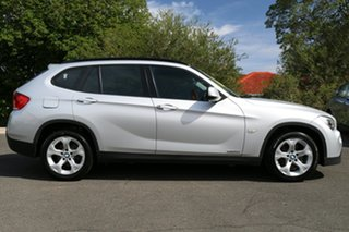 2011 BMW X1 E84 MY0911 sDrive18i Steptronic Titan Silver 6 Speed Sports Automatic Wagon