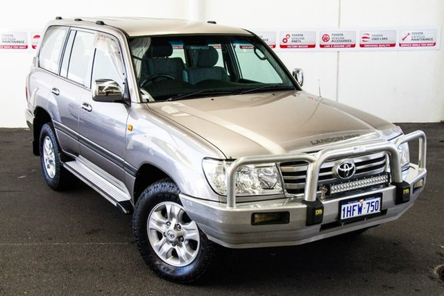 Pre-Owned Toyota Landcruiser HDJ100R Upgrade II GXL (4x4) Rockingham, 2006 Toyota Landcruiser HDJ100R Upgrade II GXL (4x4) Pewter 5 Speed Automatic Wagon