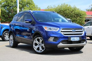 2016 Ford Escape ZG Titanium Blue 6 Speed Sports Automatic Dual Clutch SUV.