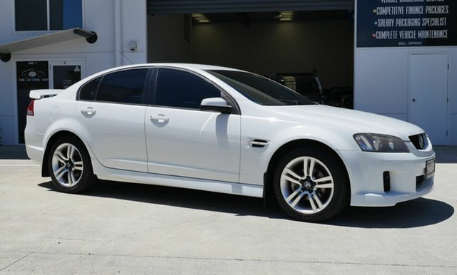 Used Holden Commodore VE SV6 Capalaba, 2007 Holden Commodore VE SV6 White 5 Speed Sports Automatic Sedan