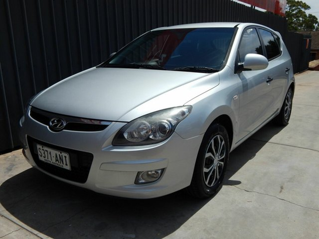 Used Hyundai i30 FD MY11 SX Blair Athol, 2011 Hyundai i30 FD MY11 SX Silver 5 Speed Manual Hatchback