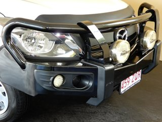 2015 Mazda BT-50 MY16 XT (4x2) White 6 Speed Manual Cab Chassis