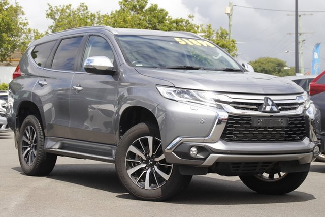 Used Mitsubishi Pajero Sport QE MY19 Exceed Mount Gravatt, 2019 Mitsubishi Pajero Sport QE MY19 Exceed Grey 8 Speed Sports Automatic Wagon