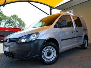 2014 Volkswagen Caddy 2KN MY14 TSI160 SWB Silver 5 Speed Manual Van
