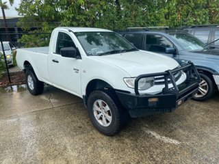 2011 Mitsubishi Triton MN MY11 GLX White 5 Speed Manual Utility
