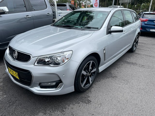 Used Holden Commodore VF II MY17 SV6 Sportwagon Maitland, 2017 Holden Commodore VF II MY17 SV6 Sportwagon Silver 6 Speed Sports Automatic Wagon