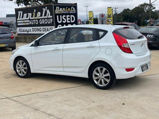 2017 Hyundai Accent Sport White Sports Automatic Hatchback.