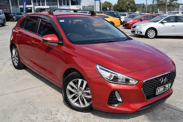 Used Hyundai i30 PD2 MY18 Active Ferntree Gully, 2018 Hyundai i30 PD2 MY18 Active Fiery Red 6 Speed Sports Automatic Hatchback