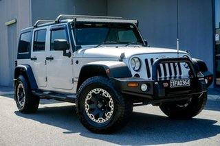 2011 Jeep Wrangler JK MY2010 Unlimited Sport Silver 4 Speed Automatic Softtop.