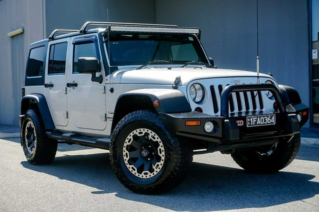 Used Jeep Wrangler JK MY2010 Unlimited Sport Osborne Park, 2011 Jeep Wrangler JK MY2010 Unlimited Sport Silver 4 Speed Automatic Softtop