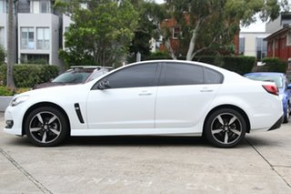 2016 Holden Commodore Vfii MY16 SV6 Black Edition White 6 Speed Automatic Sedan