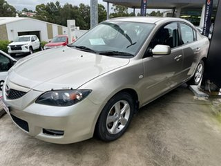 2007 Mazda 3 BK10F2 Maxx Gold 4 Speed Sports Automatic Sedan.