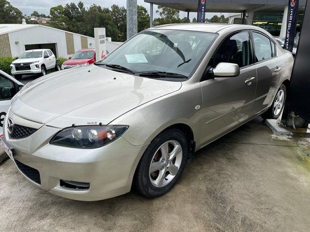 Used Mazda 3 BK10F2 Maxx Maitland, 2007 Mazda 3 BK10F2 Maxx Gold 4 Speed Sports Automatic Sedan