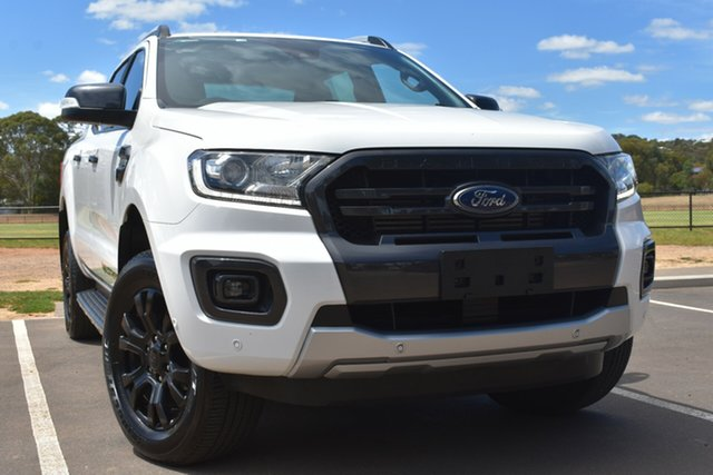 Used Ford Ranger PX MkIII 2019.00MY Wildtrak St Marys, 2019 Ford Ranger PX MkIII 2019.00MY Wildtrak White 6 Speed Sports Automatic Double Cab Pick Up