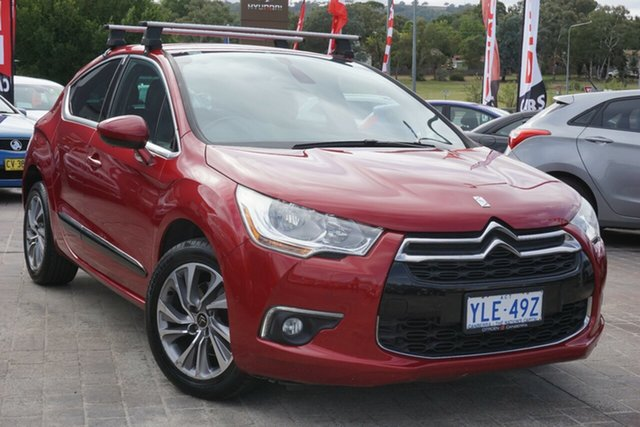 Used Citroen DS4 F7 MY13 DStyle THP 160 Phillip, 2013 Citroen DS4 F7 MY13 DStyle THP 160 Maroon 6 Speed Automatic Hatchback