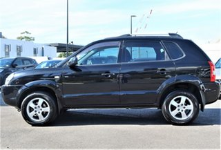 2007 Hyundai Tucson JM MY07 City SX Black 5 Speed Manual Wagon