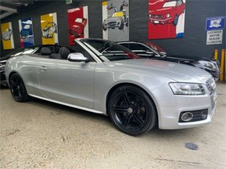 2010 Audi S5 8T Silver Sports Automatic Dual Clutch Cabriolet