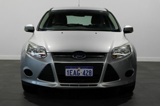 2012 Ford Focus LW Ambiente PwrShift Silver 6 Speed Sports Automatic Dual Clutch Hatchback