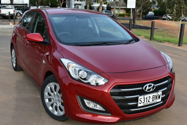 Used Hyundai i30 GD4 Series II MY17 Active St Marys, 2016 Hyundai i30 GD4 Series II MY17 Active Red 6 Speed Sports Automatic Hatchback