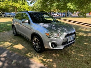 2016 Mitsubishi ASX XB MY15.5 LS 2WD Light Grey 6 Speed Constant Variable Wagon.