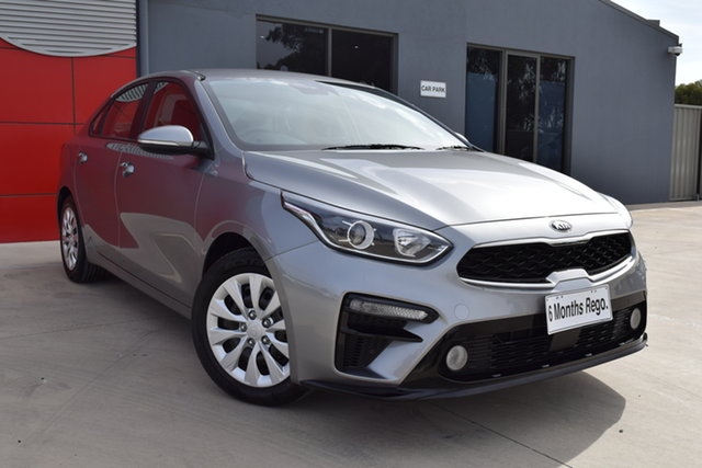 Used Kia Cerato BD MY19 S Echuca, 2019 Kia Cerato BD MY19 S Silver 6 Speed Sports Automatic Sedan