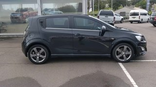 2013 Holden Barina TM MY14 RS Black 6 Speed Manual Hatchback