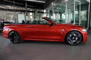 2014 BMW M4 F83 M-DCT Red 7 Speed Sports Automatic Dual Clutch Convertible