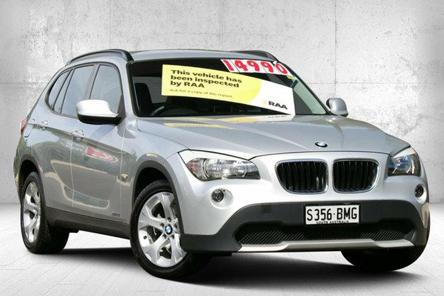 Used BMW X1 E84 MY0911 sDrive18i Steptronic Valley View, 2011 BMW X1 E84 MY0911 sDrive18i Steptronic Titan Silver 6 Speed Sports Automatic Wagon