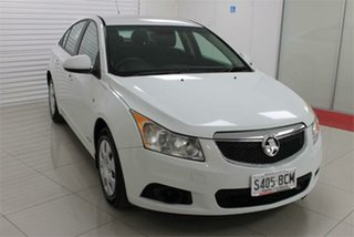 2011 Holden Cruze JH Series II CD White 6 Speed Sports Automatic Sedan.