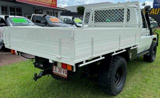 1997 Toyota Landcruiser HZJ75RP White 5 Speed Manual Cab Chassis.