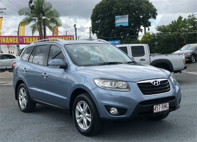 Used Hyundai Santa Fe CM Highlander Archerfield, 2010 Hyundai Santa Fe CM Highlander Blue 6 Speed Sports Automatic Wagon