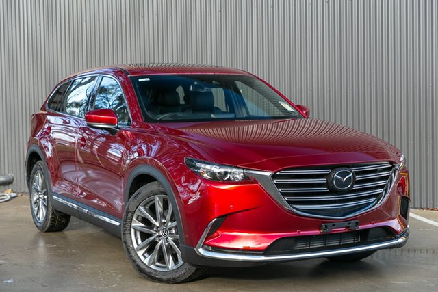 Demo Mazda CX-9 TC GT SKYACTIV-Drive Mornington, 2020 Mazda CX-9 TC GT SKYACTIV-Drive Soul Red Crystal 6 Speed Sports Automatic Wagon