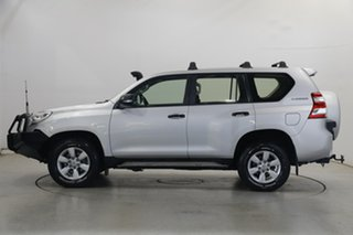 2015 Toyota Landcruiser Prado GDJ150R GX Silver 6 Speed Sports Automatic Wagon.