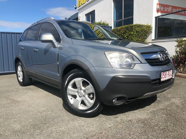Used Holden Captiva CG MY10 5 AWD Slacks Creek, 2010 Holden Captiva CG MY10 5 AWD Grey 5 Speed Sports Automatic Wagon