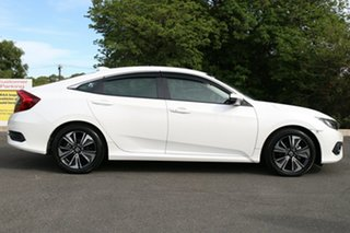 2018 Honda Civic 10th Gen MY18 VTi-L White Orchid 1 Speed Constant Variable Sedan