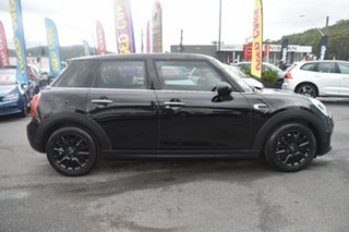 2015 Mini Hatch F55 Cooper Black 6 Speed Automatic Hatchback.