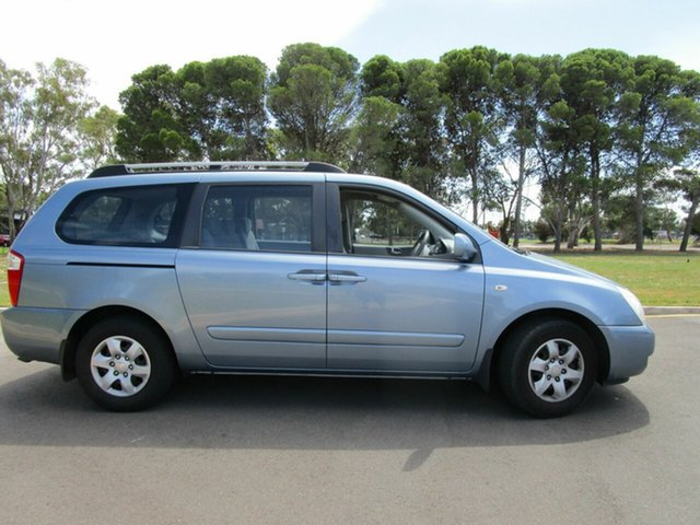 Used Kia Grand Carnival VQ (EX) Glenelg, 2006 Kia Grand Carnival VQ (EX) Blue 5 Speed Automatic Wagon
