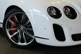 2011 Bentley Continental 3W MY11 Supersports White 6 Speed Sports Automatic Convertible.