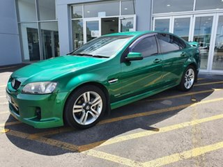 2010 Holden Commodore VE MY10 SV6 Green 6 Speed Manual Sedan.